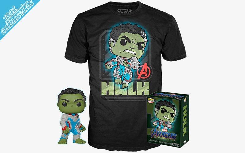 Camisetas de Funko Pop Hulk