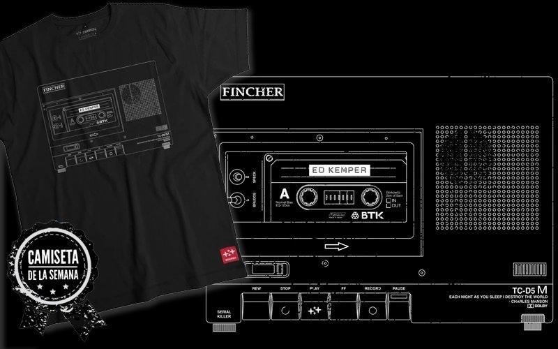 camiseta de Mindhunter
