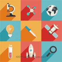Free Vectors Science And Technology Icons