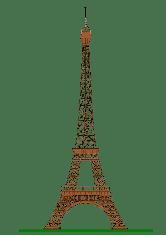 free clipart eiffel tower paris