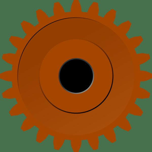 Steam Gear Clip Art