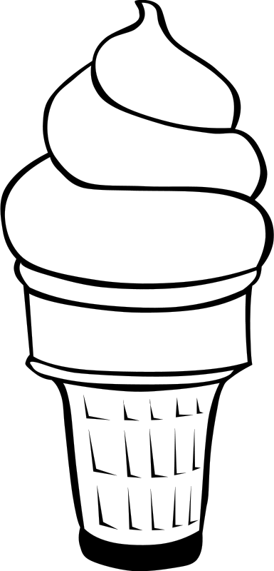 Free Clipart: Fast Food, Desserts, Ice Cream Cones, Soft