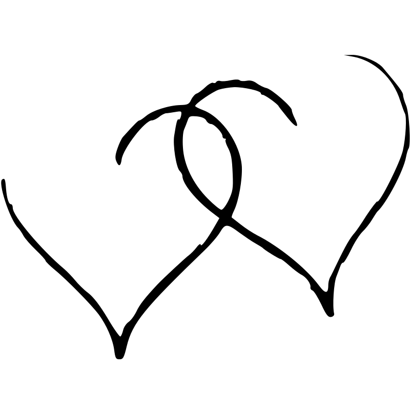 Download Free Clipart: Two hearts   eb1168