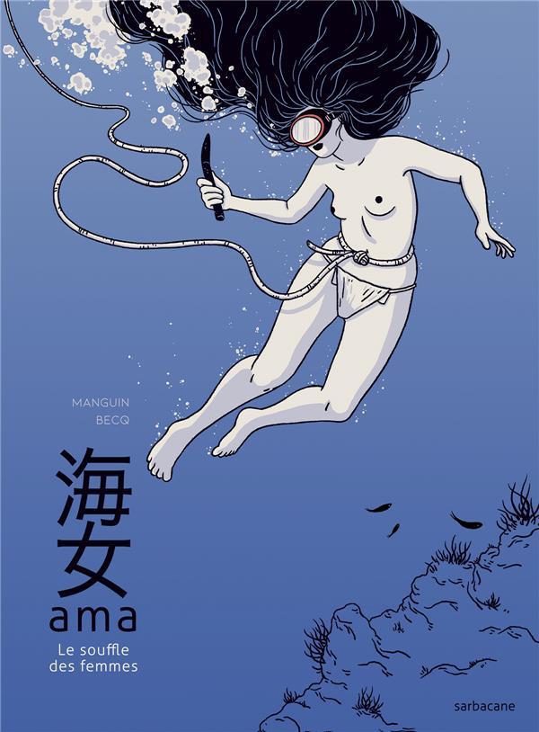 bd japon Ama le souffle des femmes