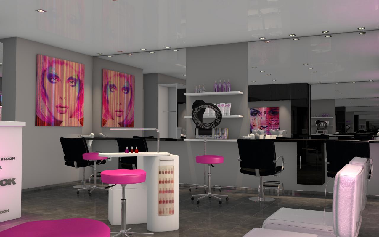 Decoration Salon De Coiffure Moderne