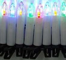 Świeczki tradycyjne LED multikolor