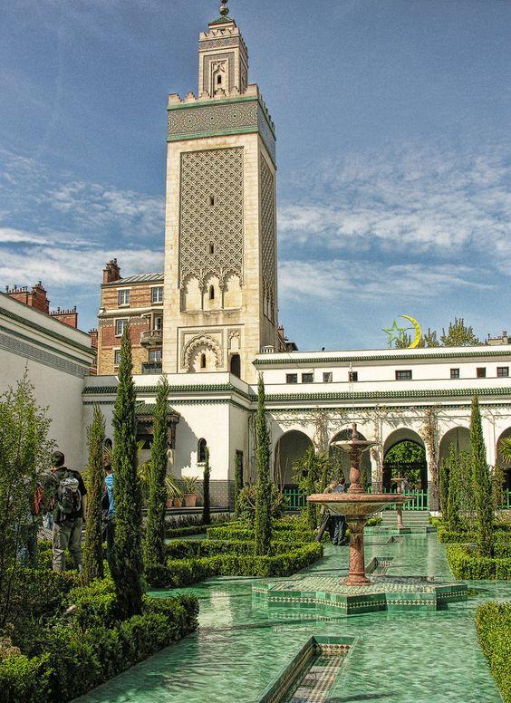 Mosquee De Paris, France
