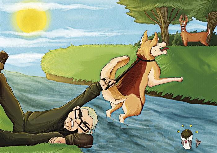 Les aventures de Haxo 5 - Le chevreuil