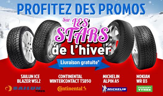 Promos pneus hiver