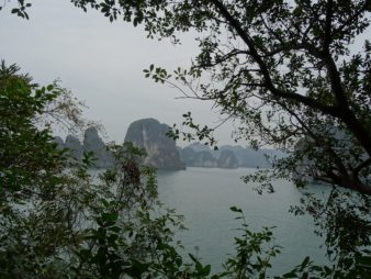 View Cave Höhle Halong Bay Vietnam