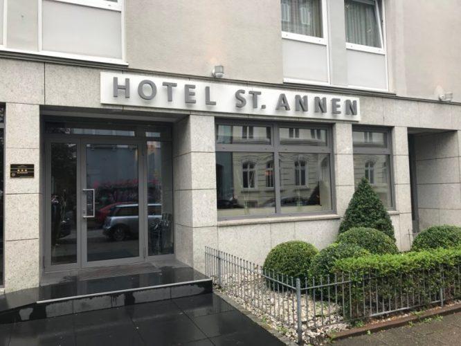 St Annen Hotel Hamburg Außenansicht