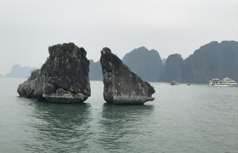 Halong Bucht Vietnam  eine völlig überwertete Sehenswürdigkeit