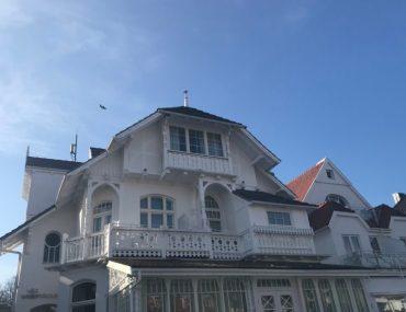 Villa Wellenrausch Außenansicht Travemünde