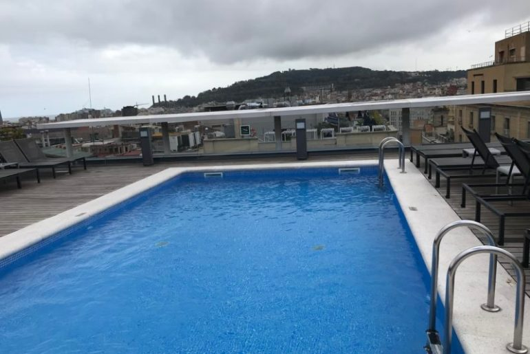 Pool & Rooftop Hotel Jazz Barcelona