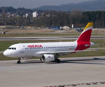 Iberia Flugzeug