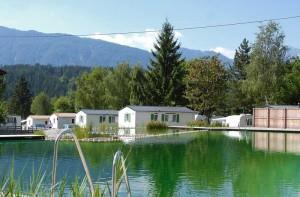 Camping-Schluga Mobilheime am Naturschwimmteich
