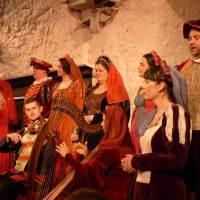 Mittelalterliches Bankett auf Bunratty Castle