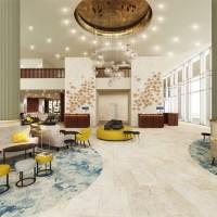 Neues Rotterdam Marriott Hotel in der niederländischen Hafenstadt