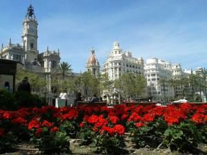 Plaza Ayuntamiento ©Turismo Valencia