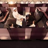 Qatar Airways enthüllt QSuite – eine revolutionäre, neue Business Class