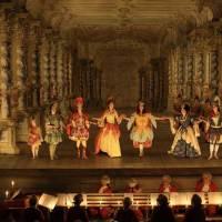 Die Barockbühne in Krumau ist Teil des Weltkulturerbes