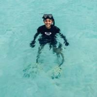 Marinebiologin Nina Rothe erklärt wie das Unterwasserparadies Milaidhoo funktioniert und geschützt wird