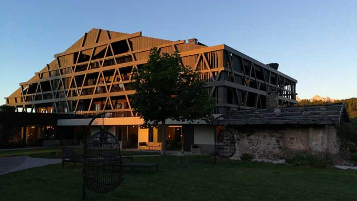 Das Hotel Pfösl ein wirklicher Kraftort in Südtirol