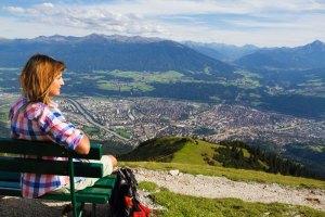 Blick über Innsbruck ©Seegrube Tom Bause