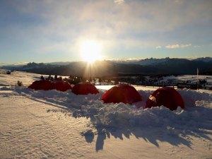 Biwak-Camp ©TVB Klausen