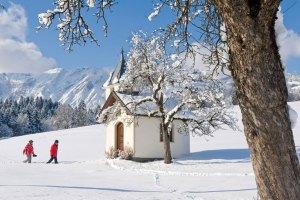 Winterspaziergang Alpachtal Seenland