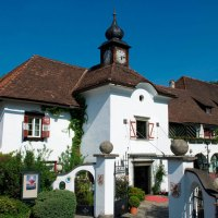 Historische Hotels direkt am See