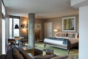 Suite in modernem Design ©Marriott International