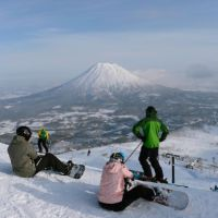 Japan erstrahlt in hellem Winterglanz