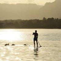 Surfer-Hotspot an Mauritius' Westküste