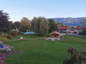 Garten des Alpenhof Murnau ©Detlef Düring