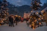 Bergweihnacht Maria Kirchental im Salzburger Saalachtal