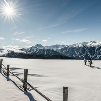 Schneeschuhwandern statt Après-Ski im Lüsnerhof