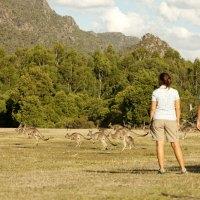 Beliebte Tourismusziele in Victoria sicher für Besucher
