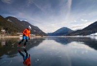 Eiszeit am Weissensee