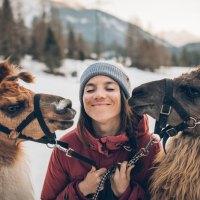 Lamas sind auch nur Menschen