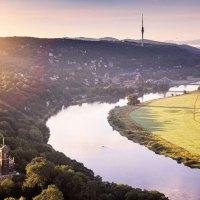 Sommerlaub in Dresden Elbland