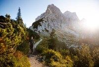 Fernwandern in den Julischen Alpen