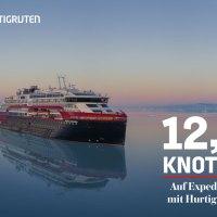 12.5 Knoten – Auf Expedition mit Hurtigruten