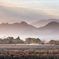Jede Menge Regen in der Wüste Namibias