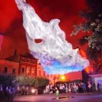 Märchenhafte Lichterwelt in Toruń