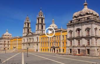 Imponente Palácio Nacional de Mafra