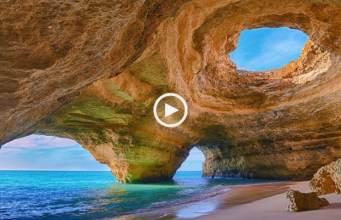 Portugal mostrado pela TVE (Algarve)