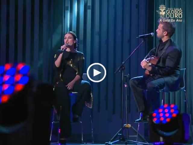Carminho e Pablo Alborán ao vivo
