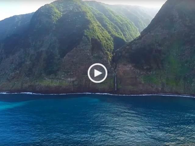 Madeira, o incrível Véu da Noiva