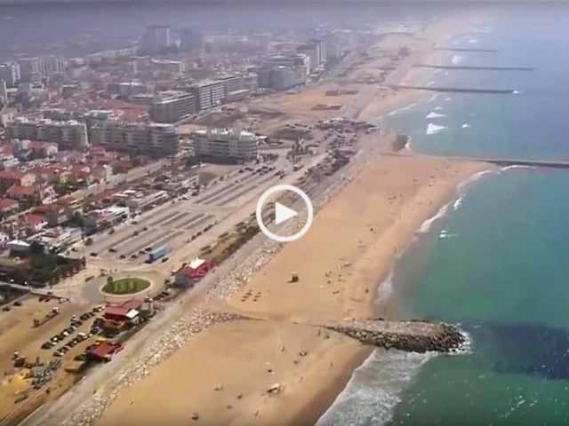 Fenomenal Portugal visto do Céu – Rio Tejo até Elvas!